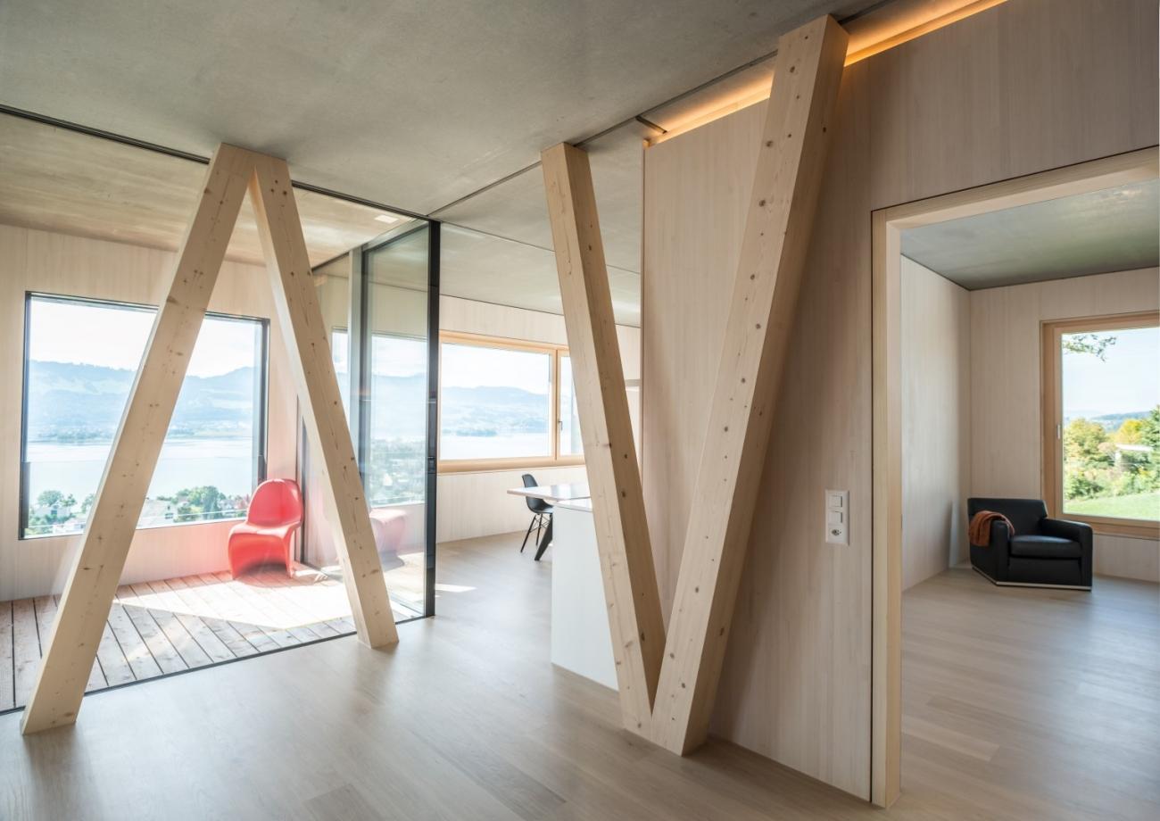 2014 Mehrfamilienhaus Holzbau Aero Architekten
